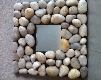 River Rock Mirror