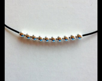 10 Sterling Silver 8mm Round Beads