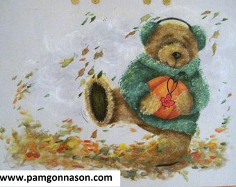 "Decorative Painting Pattern Packet ""Autumn Frolic"""