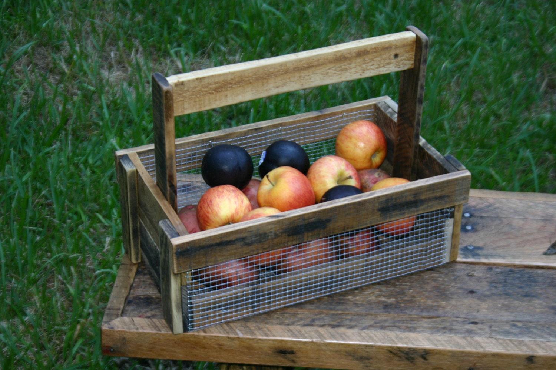 Gift Basket Ideas Wire Basket Garden Basket Harvest Basket