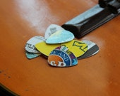 Recycled Handmade Guitar Picks