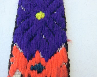 Belt, guatemalan art, handwork, embroidary