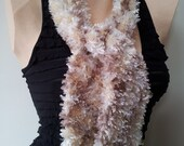 Luxuriously Soft Scarf - Available in beige or black