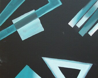 """Geometric Abstraction - """"Recall"""""""