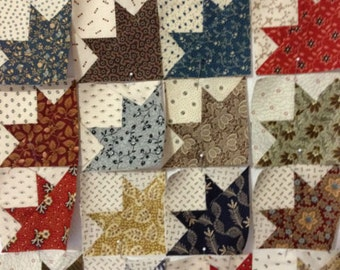 Miniature Civil War Reproduction Quilt Blocks Carolyn's Quilting
