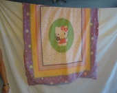Hello Kitty fleece throw blanket