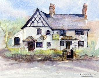 Cottage of content - fine art print