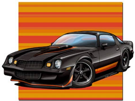 Chevy Camaro print   Make it look like your car