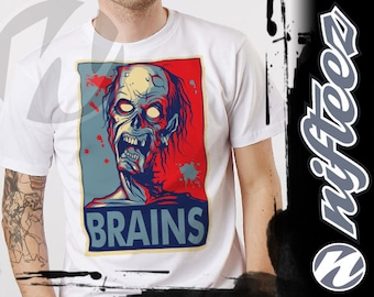 T-shirt Zombie Eat Brains SD1056