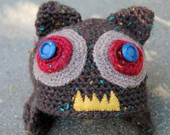 Chompers Monster Hat- Crochet