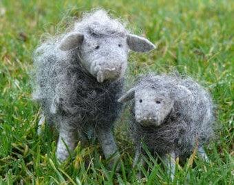 Woolly sheep - Grey - DIY kit