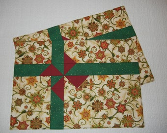 Bow Tied Placemats, Set of Two