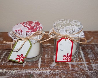 7 oz. Handmade 100% Soy Scented Candles - LOCAL