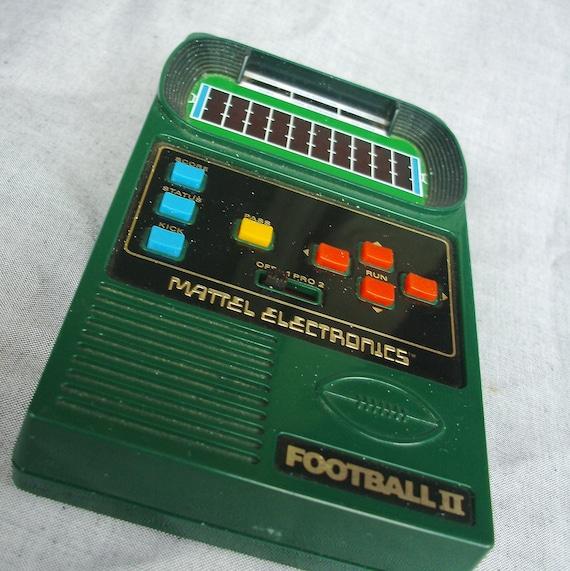 original 1978 mattel electronic football 2 game working
