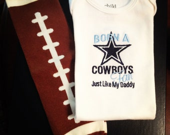 Cowboys Onesie (Leg Warmers not included in this listing)