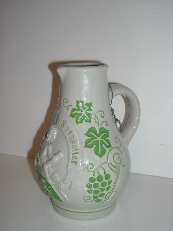 Vintage Bremer Ratsketter Stoneware Wine Jug or Pitcher from Germany