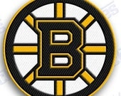 Two Dollar   off Sale ** ** boston bruins  iron on 100% embroidered embroidery patches patch - 2.0 x 2.0 INCHEs  nhl ice hockey stanley cup