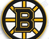 boston bruins  - iron on 100% embroidered embroidery patches patch - 2.0 x 2.0 INCHEs  nhl ice hockey stanley cup