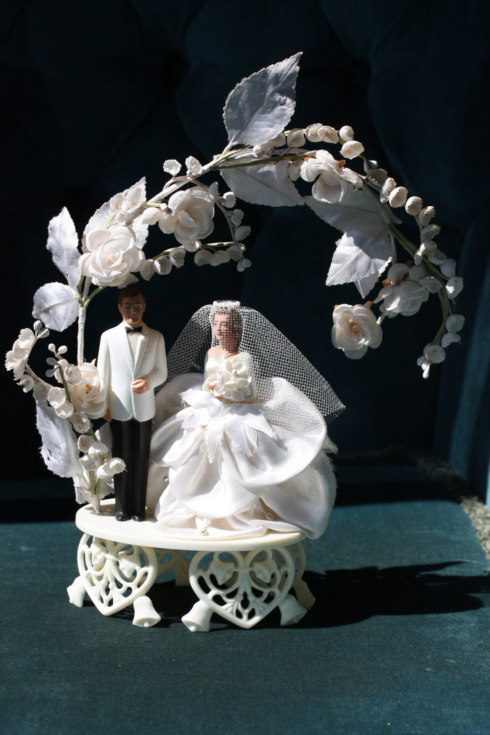 Wedding Cake Topper Fifties Sixties Wedding By
