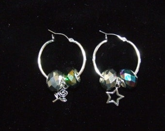 Large hoop earrings 0650EA