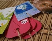 30 Recycled Christmas Gift Tags