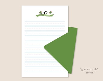 Children's Personalized Letterhead