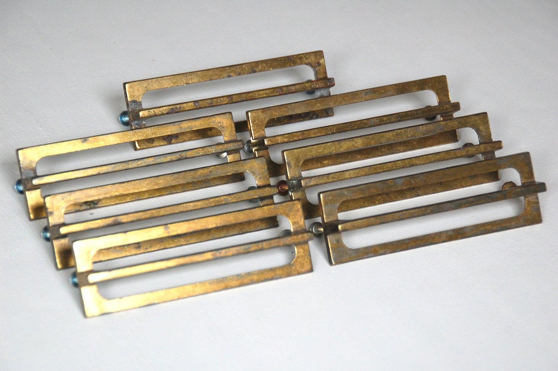 vintage brass drawer pulls drawer handles rectangular