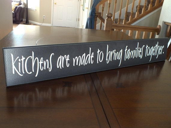 Kitchen Wooden Sign Home Design And Decor Reviews
