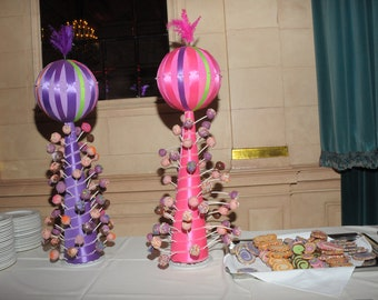 Large pink cakepop stand