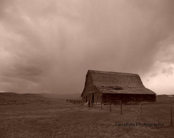 Fine Art Photography Home Decor Montana Barn