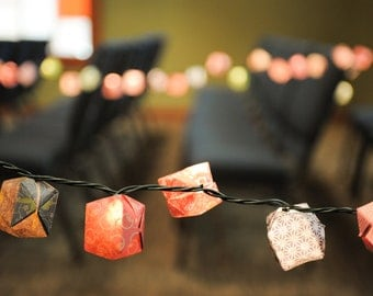 Origami Balloon Lights - Set of 35