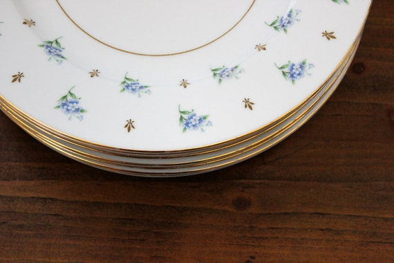 Set Of 7 Vintage China Dinner Plates - Noritake China Plates