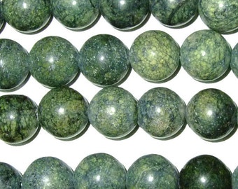 Agate Bead Natural Genuine 6mm Green Lace 15''L 38cm Loose Beads Semiprecious Gemstone Bead   Supply