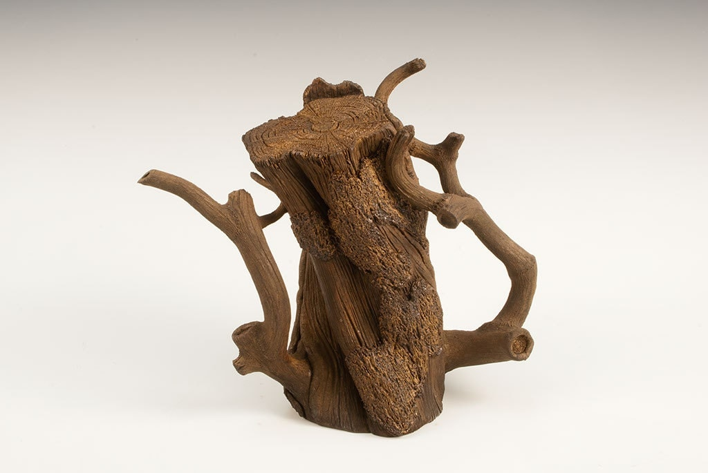ceramic trompe l 39 oeil teapot. Black Bedroom Furniture Sets. Home Design Ideas