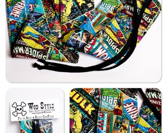WOD Style Wrist Wraps Marvel The Avengers