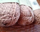 "Organic Cotton Yarn - Nature's Choice ""Pecan"" - 3 Balls"
