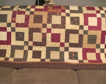 Handmade Large Lap/couch Quilt