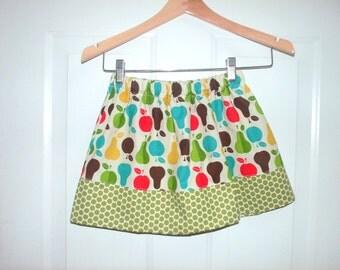apple skirt green red apple skirt girls skirt girl fall skirt toddler skirt baby infant skirt summer skirt spring skirt back to school