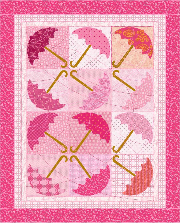 Baby Quilt Pattern Umbrella Quilt Pattern For