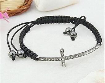Sideways Cross Bracelets, Cross Bracelet
