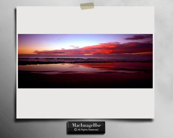 Beach Sunset Photography , Sunset Picture , Stunning Sunset Photo
