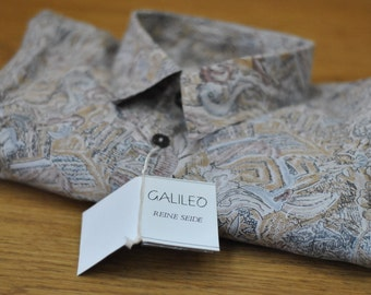 Vintage Silk Mens shirt ....