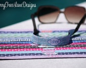 Sunglasses Strap Personalized Monogrammed Sunglasses Holder Sunglasses Strap Kroakie Gifts for Her Design Your Own Made in USA Sunglasses
