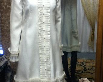 1960's Vintage Mini Wedding Dress