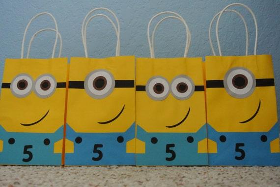 Minion Goody Bags