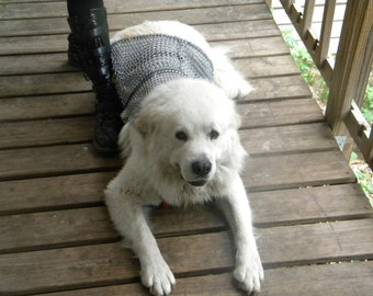 Chainmail Protective Dog Armor- Top Coat