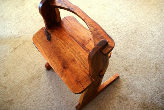 Natural live edge Appalachian style chairs