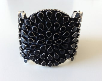 Classy Black Drops Bracelet