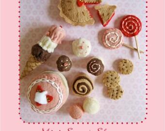 Mini Sweet Shoppe PDF pattern Doll house miniatures
