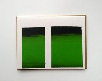 Aurora Borealis Card 2012